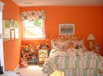 This is a bright, sunny room for a little girl, she loves it!