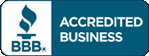 Window Fashions on Wheels is accredited by the Better Business Bureau